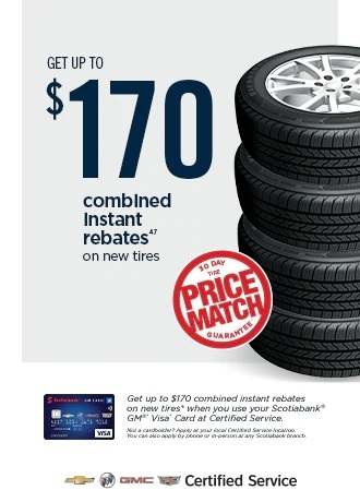 EXCLUSIVE SAVINGS ON NEW TIRES